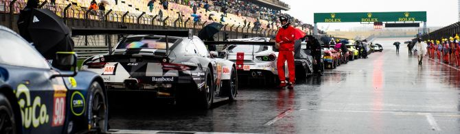 6 Hours of Shanghai red-flagged due to rain