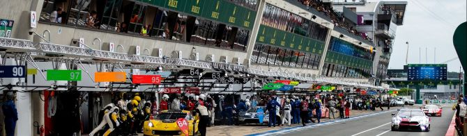 62 cars on the grid for this year's 24 Hours of Le Mans