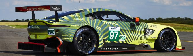 Updated livery for Aston Martin Racing's FIA WEC entries