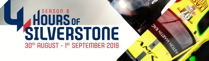 WEC's 4 Hours of Silverstone poster released
