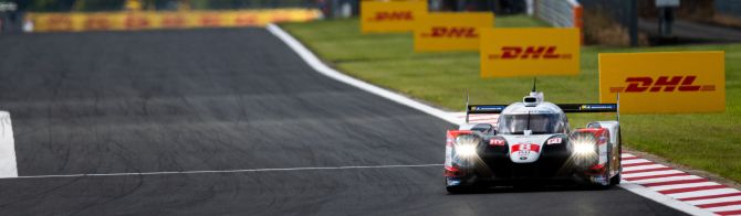 6H Fuji FP1: Toyota quickest with Rebellion close behind