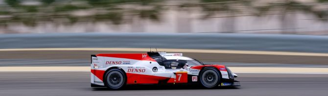 FP3 Bahrain: Toyota tops the times in the wet; LMGTE Pro sees Ferrari in front