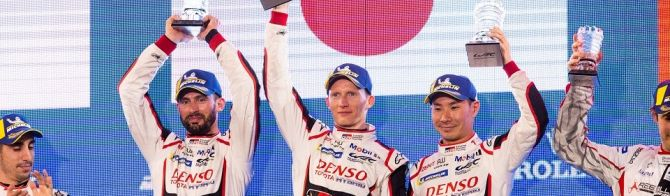 Toyota Gazoo Racing 1-2 in Bahrain; United Autosports claims first WEC LMP2 victory