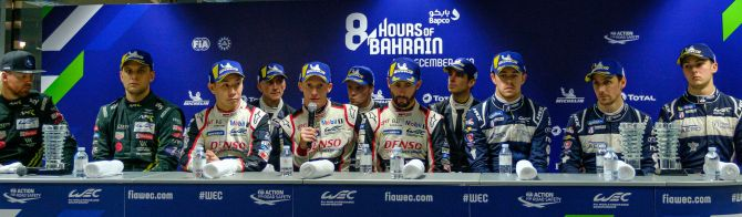What the winners said after the Bapco 8 Hours of Bahrain