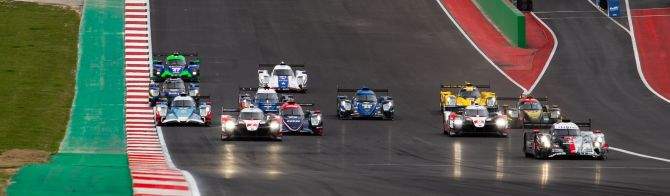 6H COTA: 2 Hour update - Rebellion Racing leads