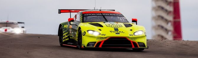 Aston Martin dominate LMGTE at Lone Star Le Mans