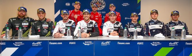 What the winning drivers said after the race