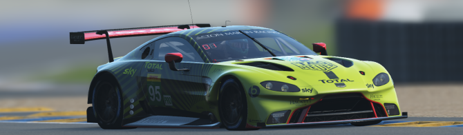Aston Martin Racing to enter 24 Hours of Le Mans Virtual!
