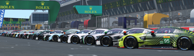 Top teams from around the world to be on the grid for 24 Hours of Le Mans Virtual