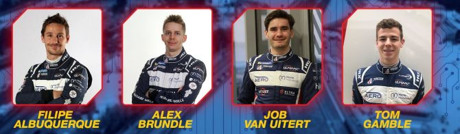 United Autosports and ByKolles confirm virtual driver line-ups
