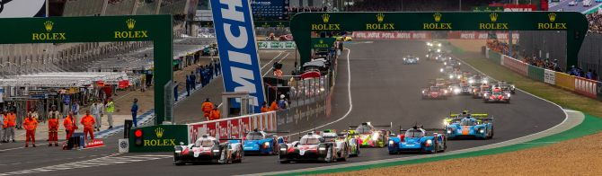 62 entries and 4 days of exciting competition for 24 Hours of Le Mans 2020