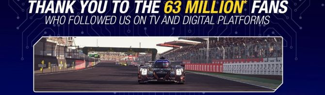 24 Hours of Le Mans Virtual enjoyed by record TV and digital audiences