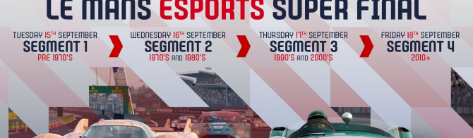 2020 Le Mans Esports Series champions to be determined at Le Mans