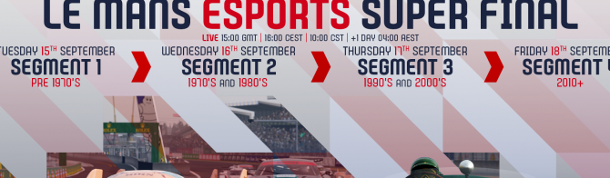 Le Mans Esports Series final kicks off at Le Mans