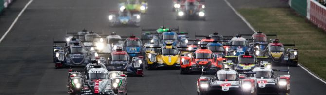 LM24 1 Hour Report: Toyota No. 7 leads the field