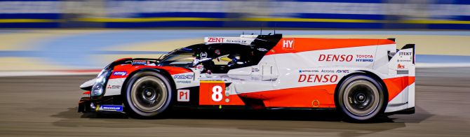 Bahrain FP1: Toyota No. 8 leads No. 7 car while Aston Martin tops LMGTE Pro