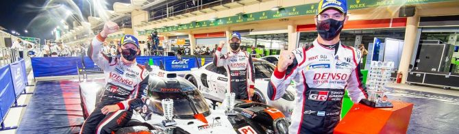 Toyota No. 7 wins LMP1 drivers' title in Bahrain