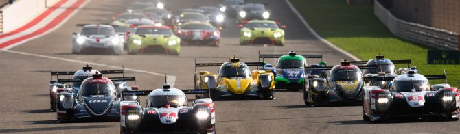 Relive the WEC action from Bahrain
