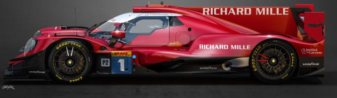 Richard Mille Racing Team enters all-female trio for WEC LMP2 campaign