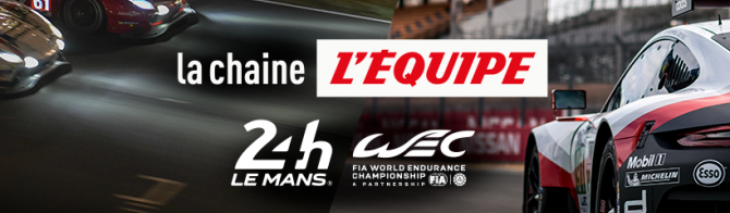 L'Equipe: a new broadcaster for the 24 Hours of Le Mans and the FIA WEC