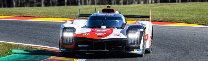 No. 8 Toyota Hypercar tops afternoon test session