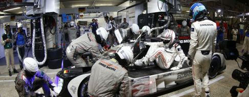 The Le Mans winning No.2 Porsche's facts and figures