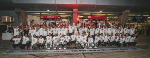 Porsche claim Shanghai win and Manufacturers' Championship