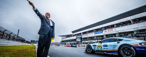 Wet Conditions Provides GTE Drama in First Half of Fuji Race