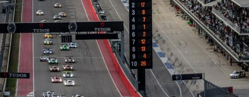 Porsche Leading in Texas after 3 Hours