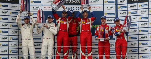 AF Corse Ferrari and Aston Martin Racing take LMGTE class wins