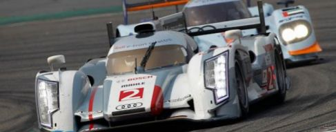 Hour 3:  Audis battle for title while Toyota leads