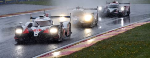 No.8 Toyota crew beat the elements at Spa; DragonSpeed take maiden LMP2 win