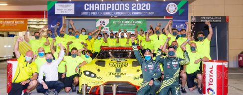 Aston Martin seals the deal for FIA GT titles with Porsche wins in Bahrain